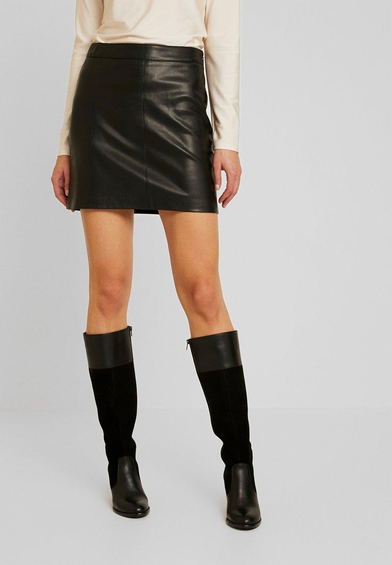 Gina Tricot - BILLIE SKIRT - Mini skirt - black