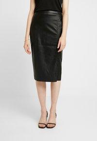 Gina Tricot - SAMANTHA SKIRT - Pencil skirt - black - 0