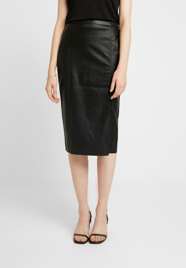 SAMANTHA SKIRT - Spódnica ołówkowa  - black