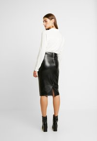 Gina Tricot - ANDREA SKIRT - Pencil skirt - black - 2