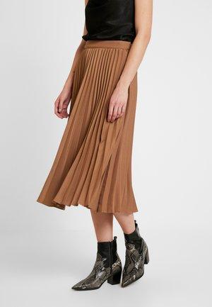 PAULINA SKIRT - Áčková sukně - camel beige/brown