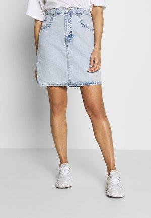 MOM SKIRT - A-line skirt -  blue snow