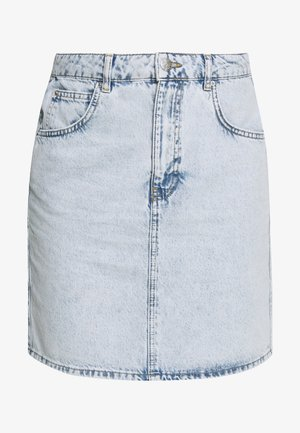 MOM SKIRT - A-linjekjol -  blue snow