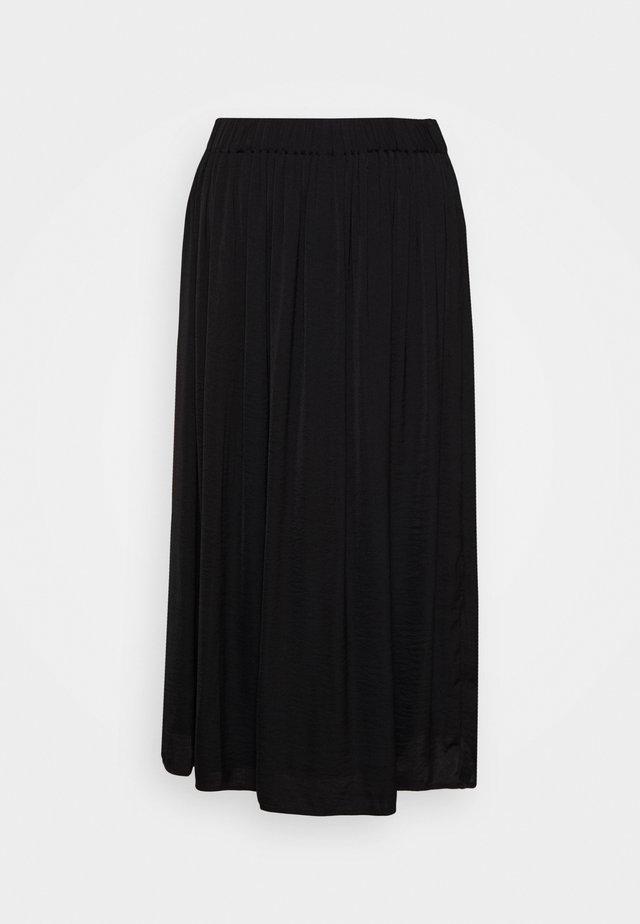 CILLA SKIRT - A-linjekjol - black
