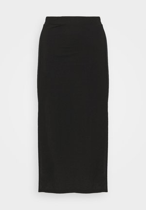 ELSA SKIRT - Áčková sukně - black