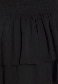 Gina Tricot - LIZETTE SMOCK SKIRT - A-line skjørt - black - 2