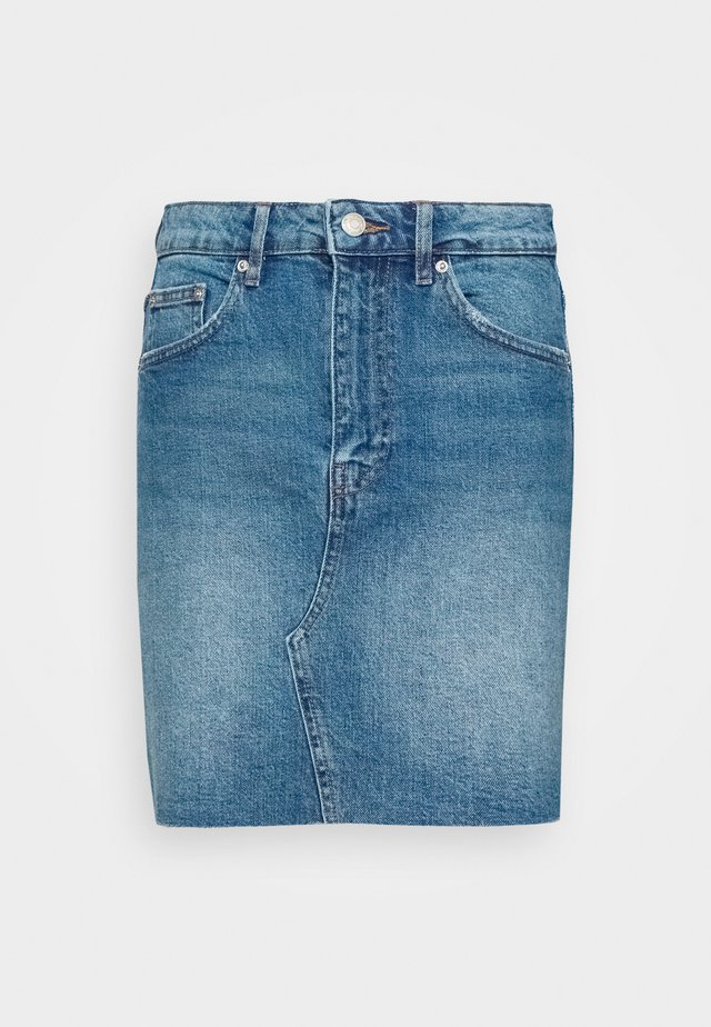 VINTAGE SKIRT - Jupe en jean - mid blue