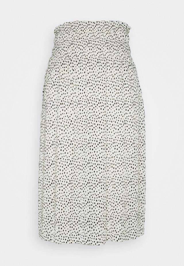 ELISIA SKIRT - Jupe trapèze - white
