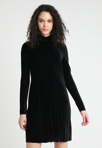 Gina Tricot - MOA DRESS - Day dress - black - 0