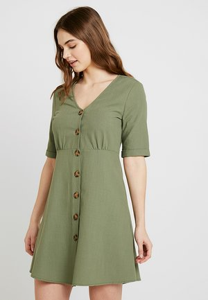 OLIVIA DRESS - Shirt dress - deep lichen
