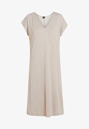 ASTA DRESS - Žerzejové šaty - simply taupe