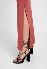 Gina Tricot - SUZY SLIP DRESS - Maxikleid - marsala - 3