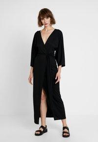 Gina Tricot - Robe d'été - black - 0