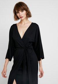 Gina Tricot - Robe d'été - black - 3