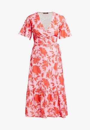 VICKY WRAP DRESS - Maxi šaty - pink