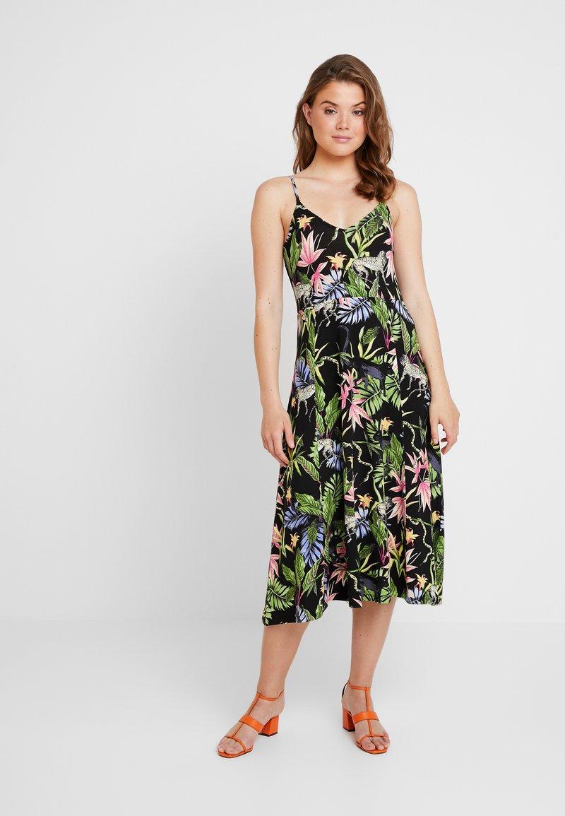 Gina Tricot - JOSSAN DRESS - Maxikleid - black/multi-coloured