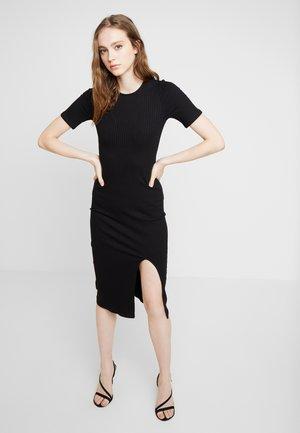 AMELIA DRESS - Pouzdrové šaty - black