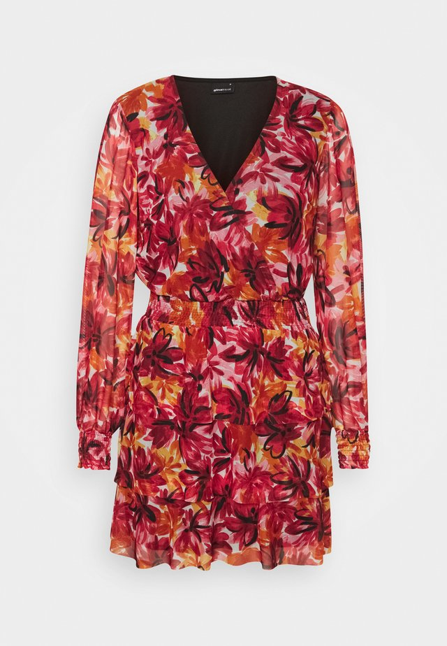 ALICE DRESS - Sukienka letnia - red/multi coloured