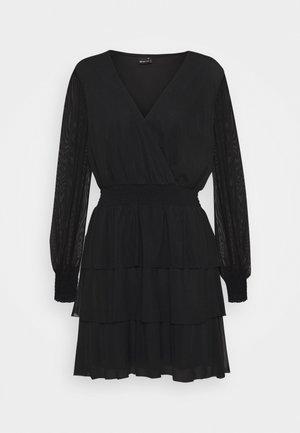 ALICE DRESS - Korte jurk - black