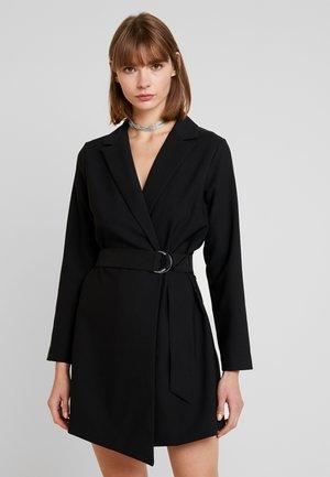 VALLERY BLAZER DRESS - Korte jurk - black