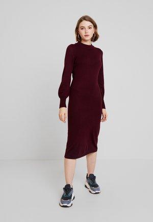 EXCLUSIVE KATE DRESS - Abito in maglia - winetasting