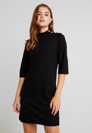 EXCLUSIVE ALICIA DRESS - Žerzejové šaty - black