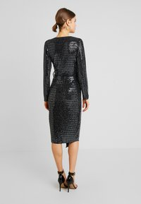 Gina Tricot - MATILDI GLITTER DRESS - Cocktailklänning - black - 3