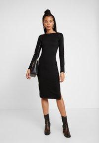 Gina Tricot - SASSI DRESS - Etui-jurk - black - 2