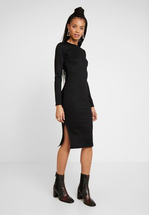 SASSI DRESS - Shift dress - black