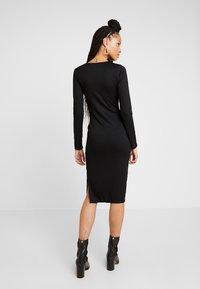 Gina Tricot - SASSI DRESS - Etui-jurk - black - 3