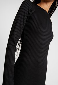 Gina Tricot - SASSI DRESS - Etui-jurk - black - 6