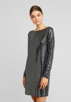 KERRA GLITTER DRESS - Cocktailklänning - black