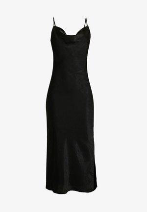 EXCLUSIVE SANDY SLIP DRESS - Korte jurk - black