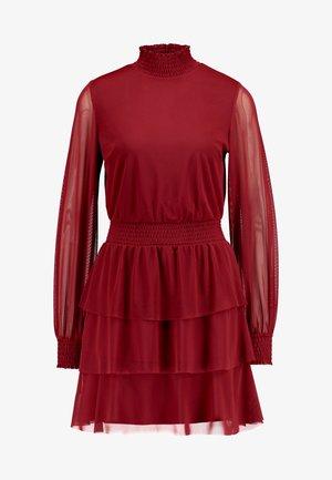 ALICE TURTLENECK DRESS - Vestido informal - wine
