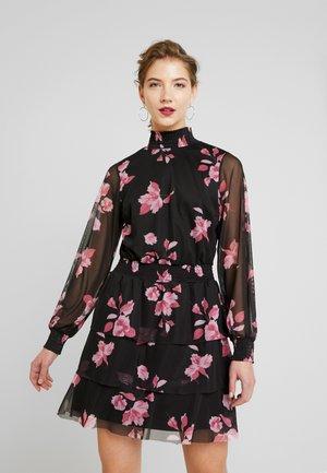 ALICE TURTLENECK DRESS - Vestito estivo - black