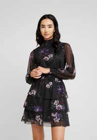 Gina Tricot - ALICE TURTLENECK DRESS - Robe d'été - black - 0