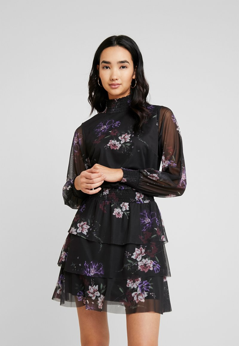 Gina Tricot - ALICE TURTLENECK DRESS - Robe d'été - black