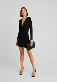Gina Tricot - AMBI DRESS - Robe fourreau - black - 2