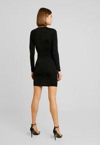 Gina Tricot - AMBI DRESS - Robe fourreau - black - 3