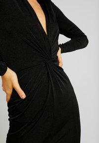 Gina Tricot - AMBI DRESS - Robe fourreau - black - 6