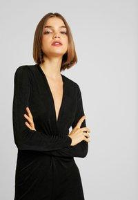 Gina Tricot - AMBI DRESS - Robe fourreau - black - 4