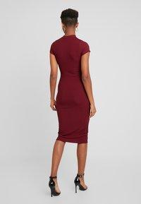Gina Tricot - HEIDI DRESS - Vestido de tubo - wine - 3