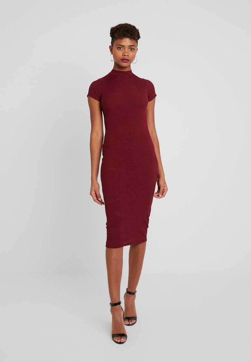 Gina Tricot - HEIDI DRESS - Vestido de tubo - wine