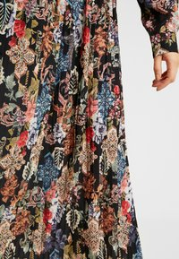 Gina Tricot - ASTRID PLEATED DRESS - Korte jurk - black/pink - 5