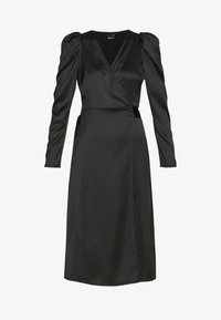 Gina Tricot - JOAN WRAP DRESS - Day dress - black - 3
