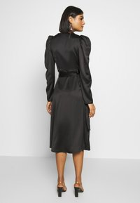Gina Tricot - JOAN WRAP DRESS - Day dress - black - 2