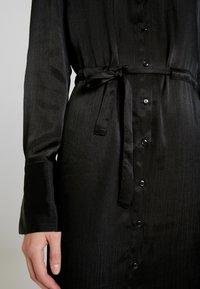 Gina Tricot - LOVISA DRESS - Skjortekjole - black - 4