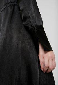 Gina Tricot - LOVISA DRESS - Skjortekjole - black - 6