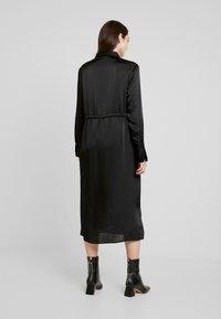 Gina Tricot - LOVISA DRESS - Skjortekjole - black - 2