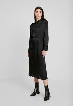 LOVISA DRESS - Košilové šaty - black